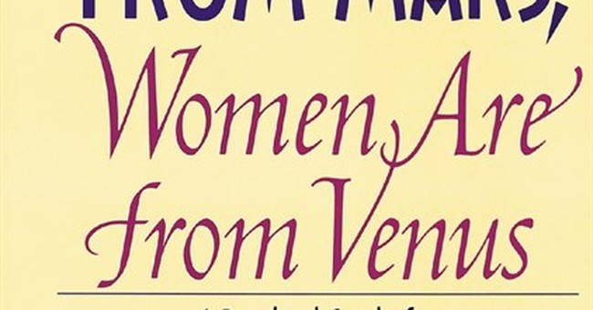 'Men Are from Mars, Women Are from Venus' books NYC stage