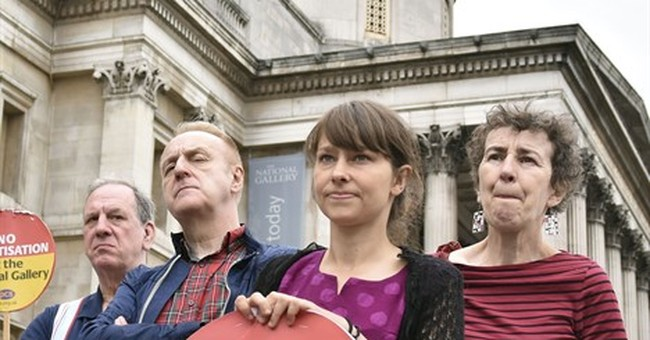 London's National Gallery staff launch indefinite strike