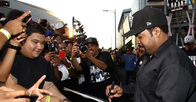 Unprecedented security in place for 'Compton' film premiere