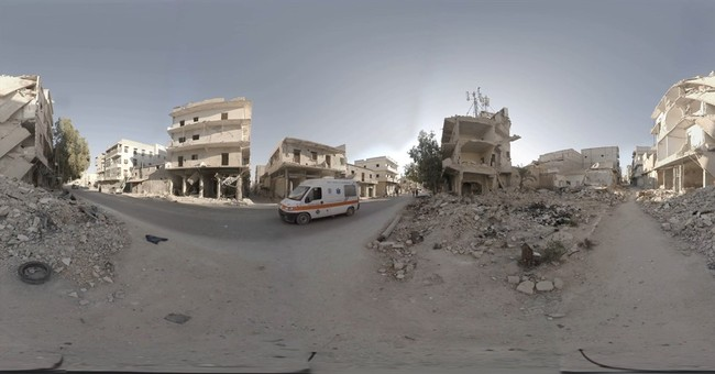 With virtual reality, a 360-degree view inside Syria