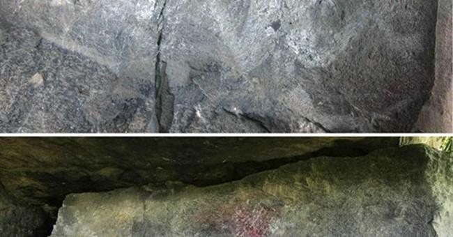 Pre-Hispanic stone engravings vandalized in central Mexico
