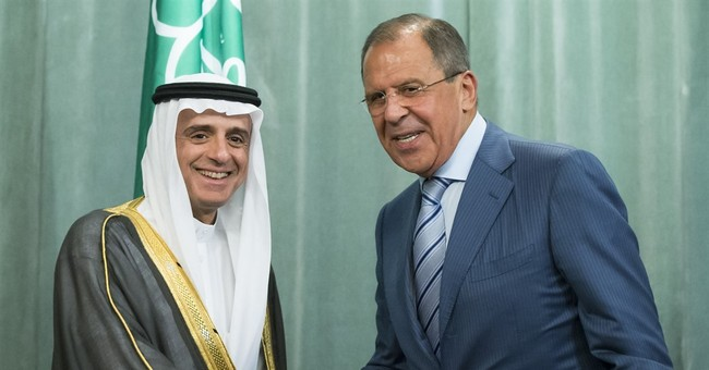 Saudi FM in Moscow for Syria-focused talks