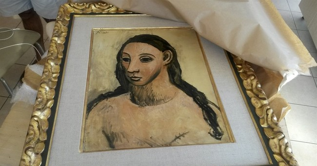 Spanish police fly to Corsica to retrieve Picasso work