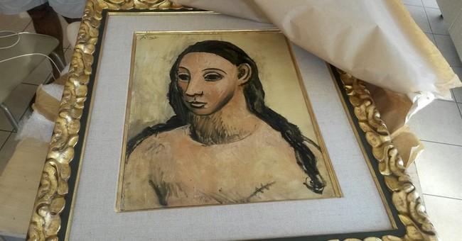 Spanish police fly to Corsica to retrieve Picasso work