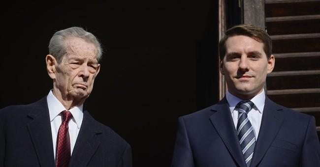 Romania's a republic, but royal upset makes headline news