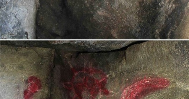 Pre-Hispanic stone engravings vandalized in central Mexico