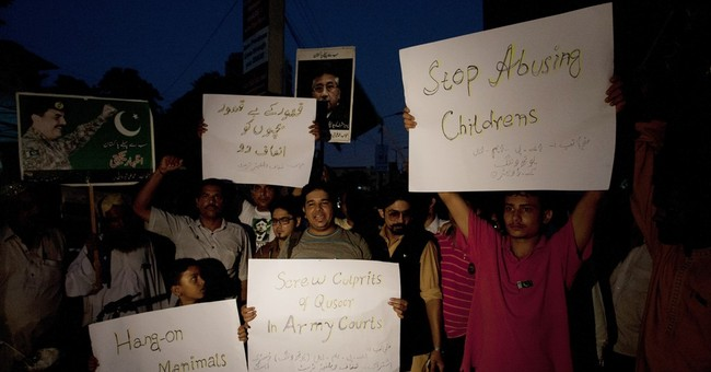 Pakistan police officers, spy fired over child abuse case