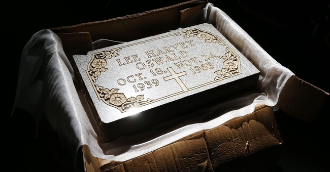 Lee Harvey Oswald gravestone back in Texas