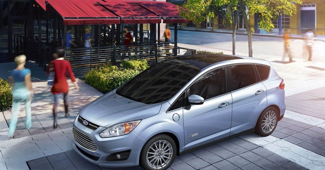 Fuel economy for Ford C-Max Energi most apparent in city