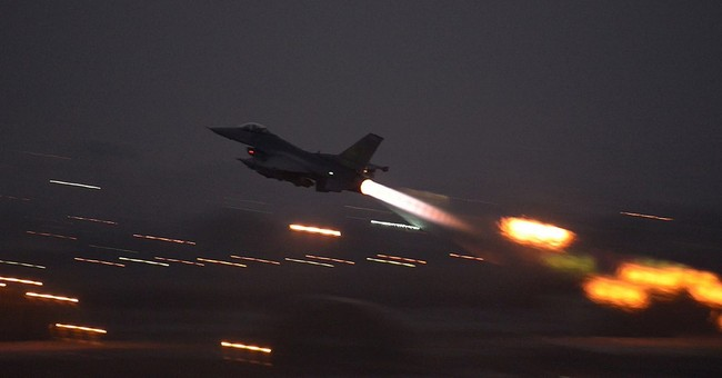 US F-16 fighters fly first missions from Turkey