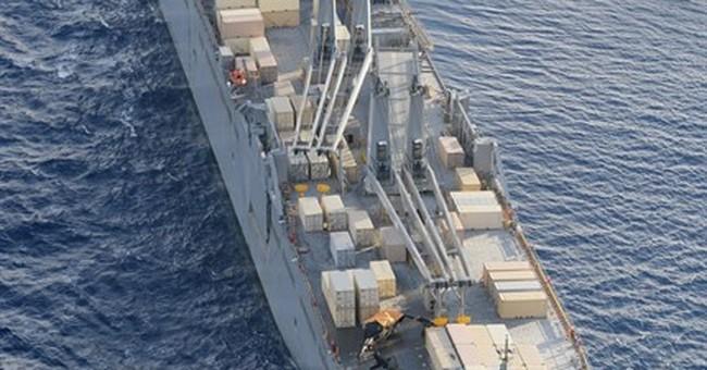 US Army copter crash-lands on ship off Japan island; 6 hurt