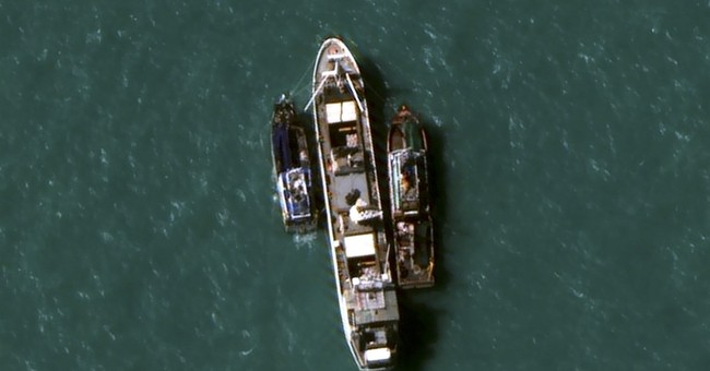 Indonesia navy nabs cargo ship loaded with slave-caught fish