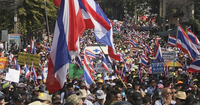 Law curbing public assembly takes effect in Thailand