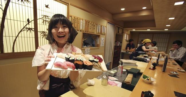 Sushi showdown: Women challenge one of Japan's male bastions