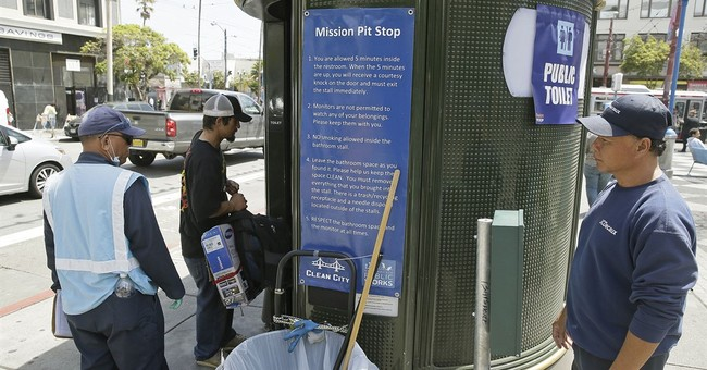 Hold it! San Francisco uses paint to fight public urination