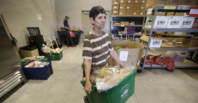 Food banks struggle to meet surprising demand