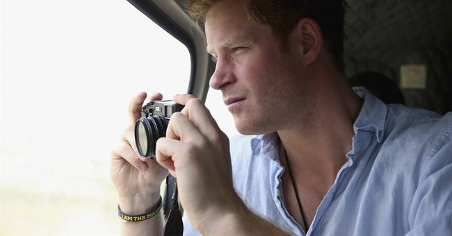 Prince Harry visits South Africa's flagship wildlife park