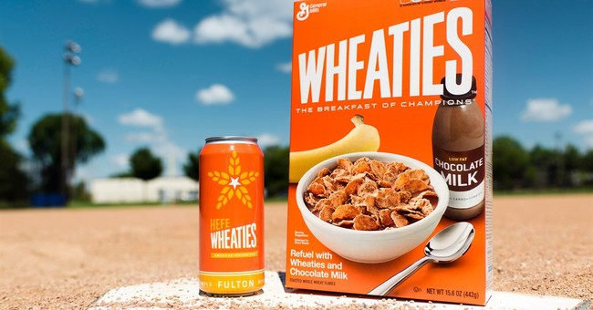 Beer of champions? Wheaties teams up with brewery