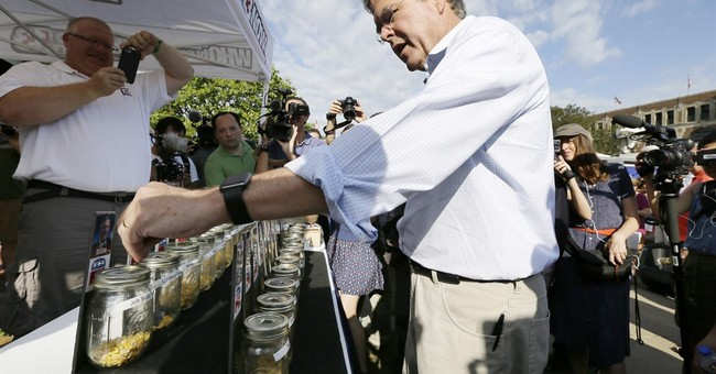 Iowa State Fair: Jeb Bush personal time with state leaders