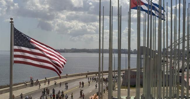 US Marines who lowered embassy flag in 1961 back in Havana