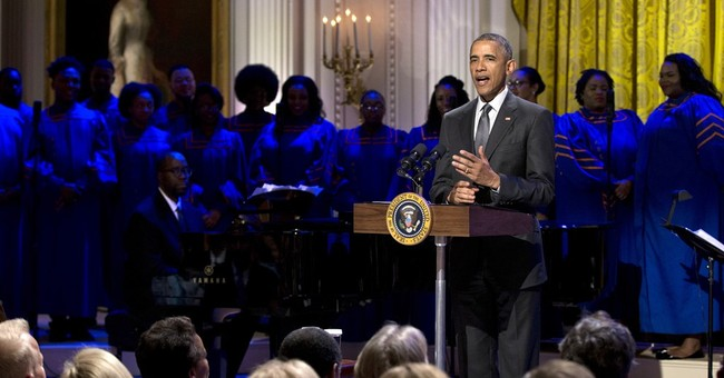 Obama releases music playlists on Spotify