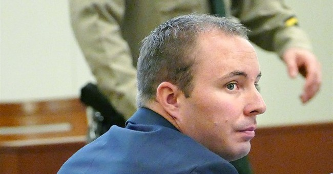 White officer ends testimony in black man's shooting death