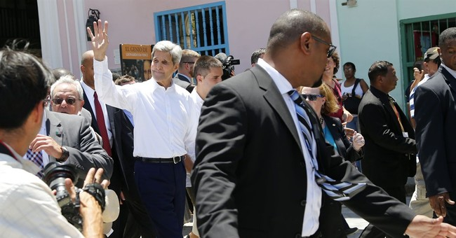 Surprise Kerry visit to Old Havana gives locals goose bumps