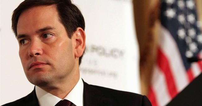 In speech, Rubio slams Obama's outreach to Iran and Cuba