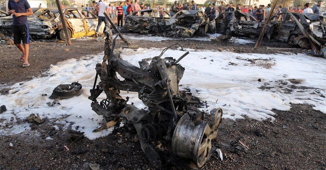Iraq officials: Bombs in and around Baghdad kill 22 people