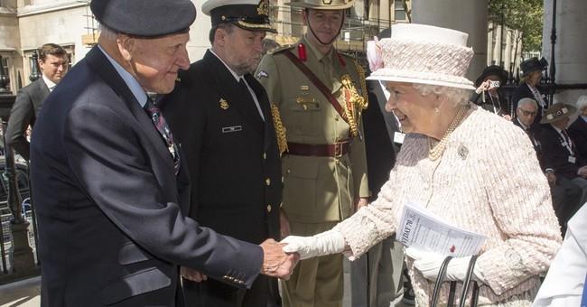 Queen Elizabeth II leads ceremonies in Britain for VJ Day