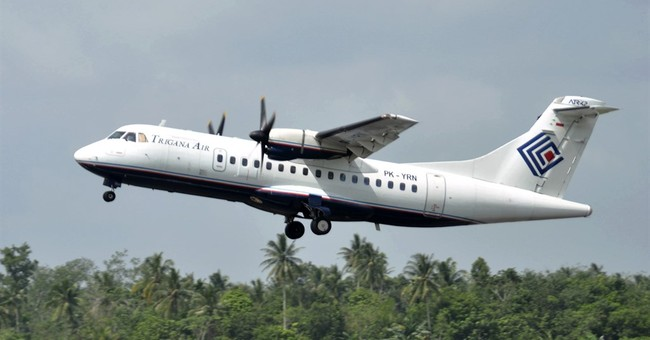 Searchers spot wreckage of missing Indonesia passenger plane