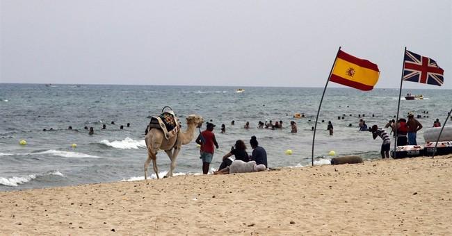 Last burst of summer fun for Tunisia's doomed beach hotels