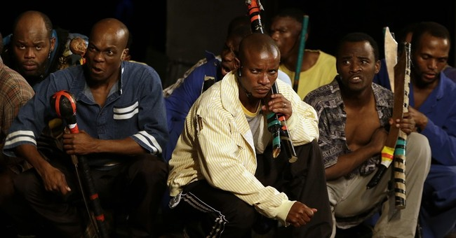 South African musical dramatizes police shooting of strikers