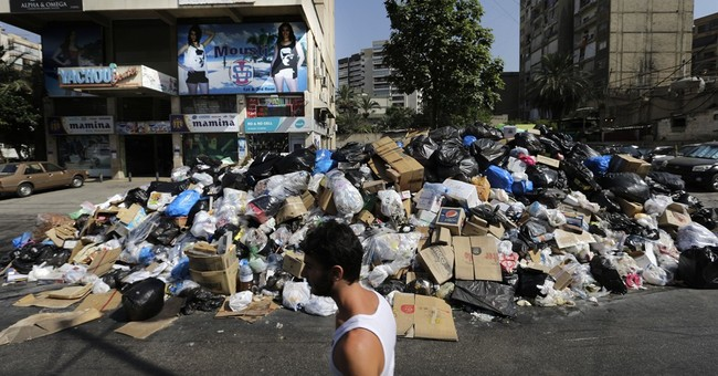 Lebanon health minister warns of dangers from trash crisis