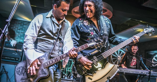 Johnny Depp, Gene Simmons rock together for kids' charity