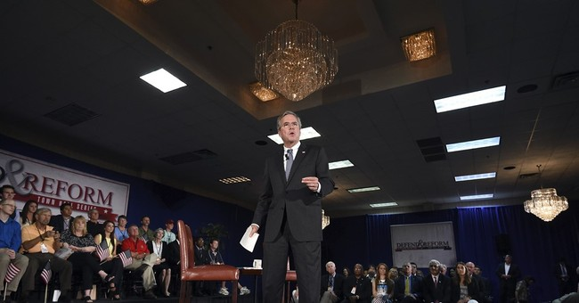 Bush: Privatize more veterans care, boost active forces