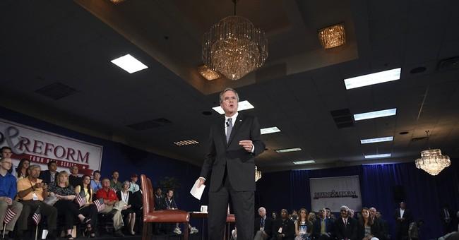 Bush: Privatize more veterans care, boost active forces