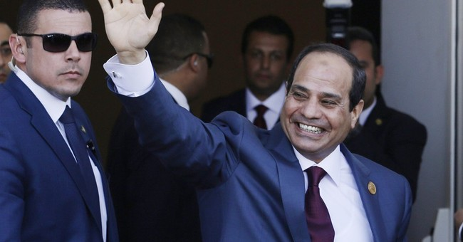 Egypt president asks for public support after mother's death