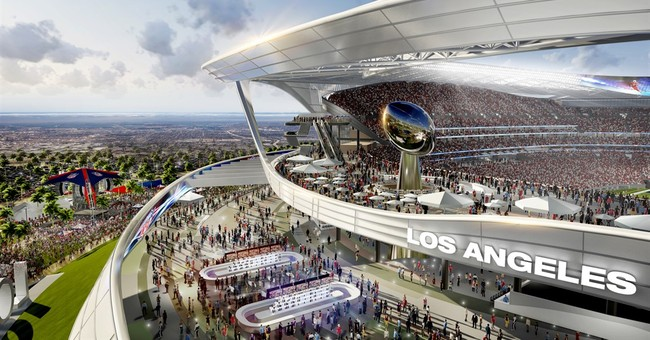 Los Angeles stadium could bring shift in NFL divisions