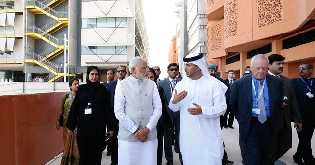 India's premier in rousing speech says UAE to invest $75b