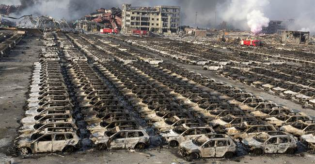 Foreign companies around Tianjin blast suspend operations