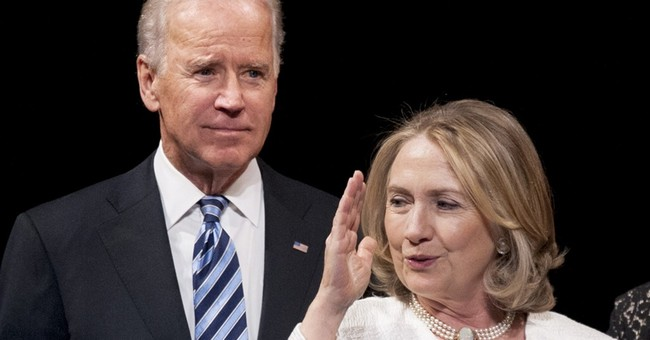 For Clinton and Biden, a long and tangled friendship