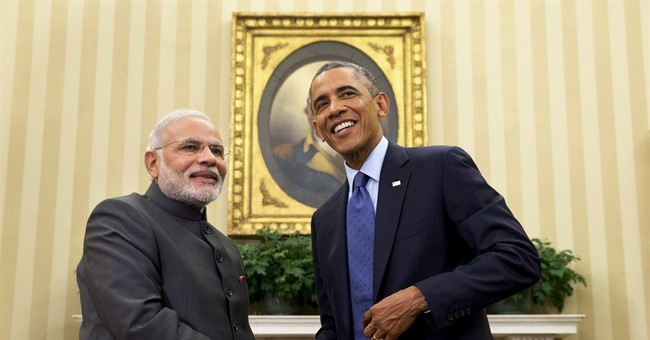 Obama heading to India, hoping to improve ties