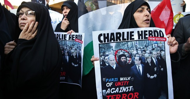 Report: Iran sees mass demonstrations over Charlie Hebdo