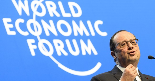 Hollande, leaders call for investments in the green economy