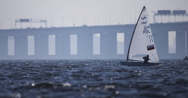 Rio official says there's 'no plan B' for Olympic sailing
