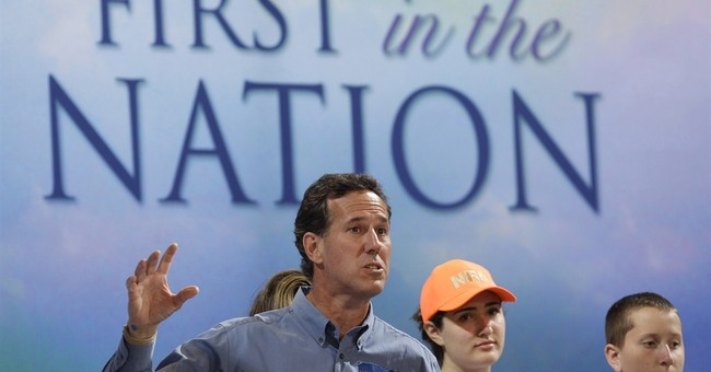 Still an underdog, Santorum weighing another White House bid