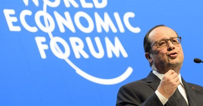 DAVOS WATCH: Hollande, King Abdullah, Draghi, Greek vote