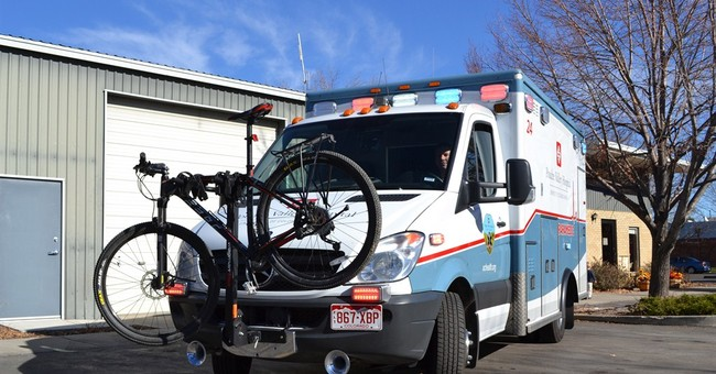 In bike-loving Colorado city, ambulances get racks for rides