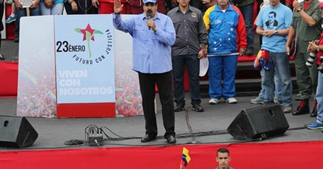 Maduro criticizes visit by 3 former Latin American leaders